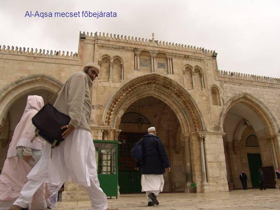 A Dávid torony, a Jaffa-kapunál