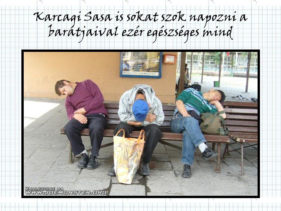 Karcagi Sasa is sokat szok napozni a barátjaival ezér egészséges mind