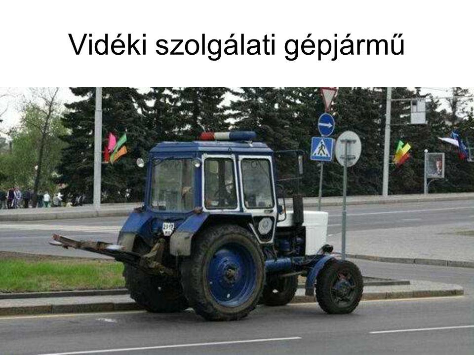 Vidéki szolgálati gépjármű