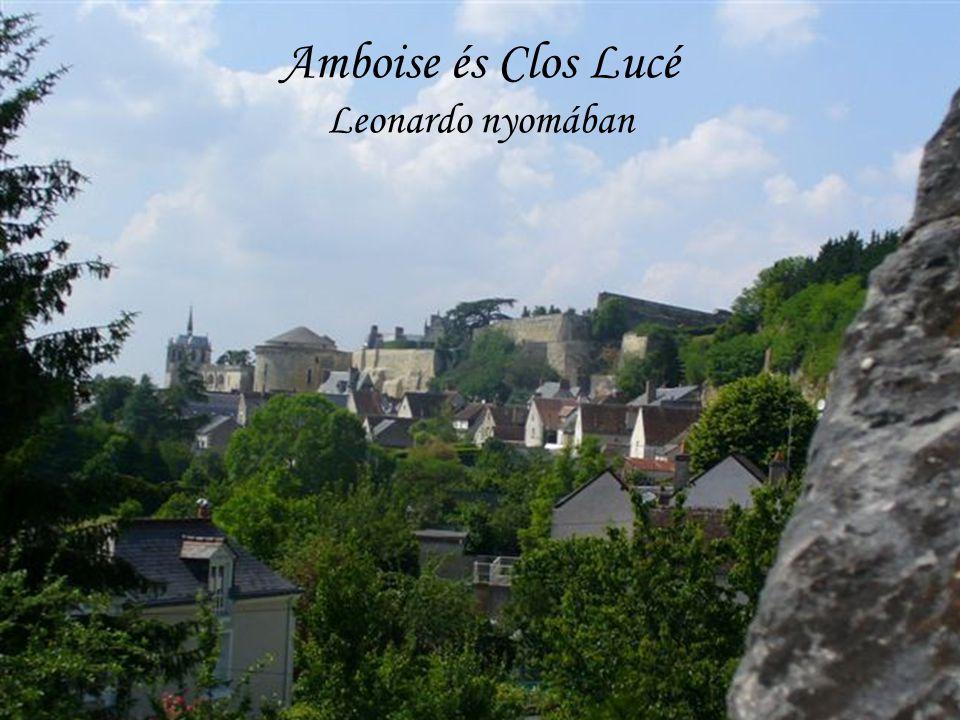 Amboise és Clos Lucé Leonardo nyomában