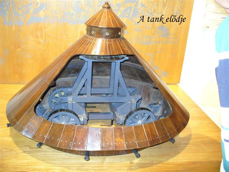A tank elődje