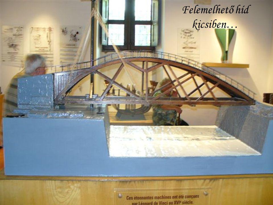 Felemelhető híd kicsiben…