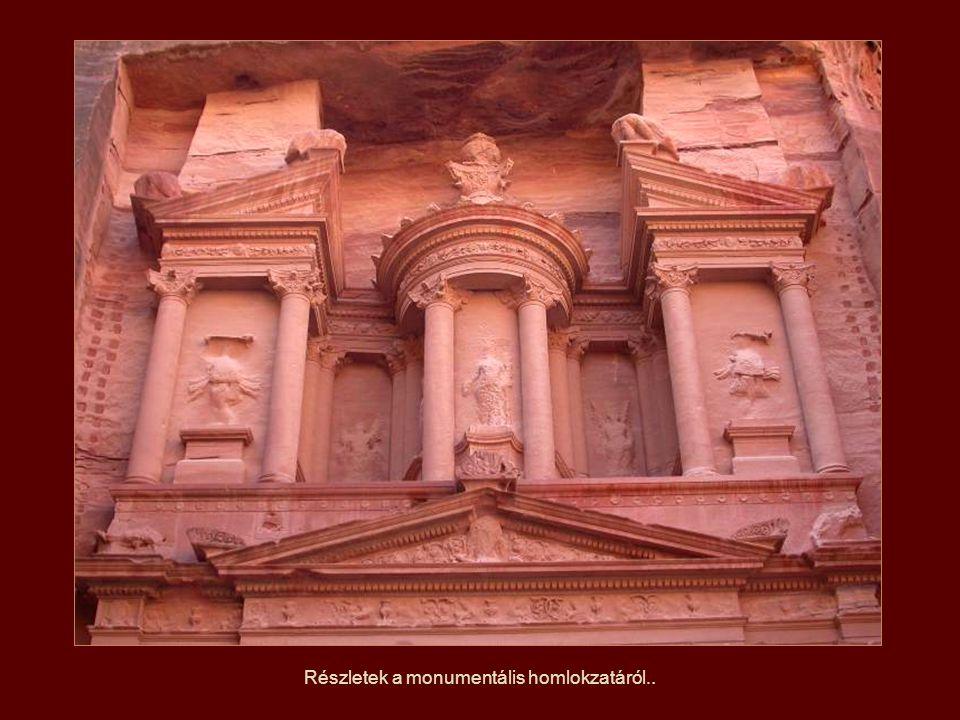 Petra i.e. a VI. században épült, a nabateusok építették a a Perzsa Birodalom alatt.