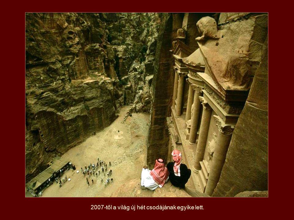 1985-ben Petrát az UNESCO a Világörökség részévé nyilvánította.