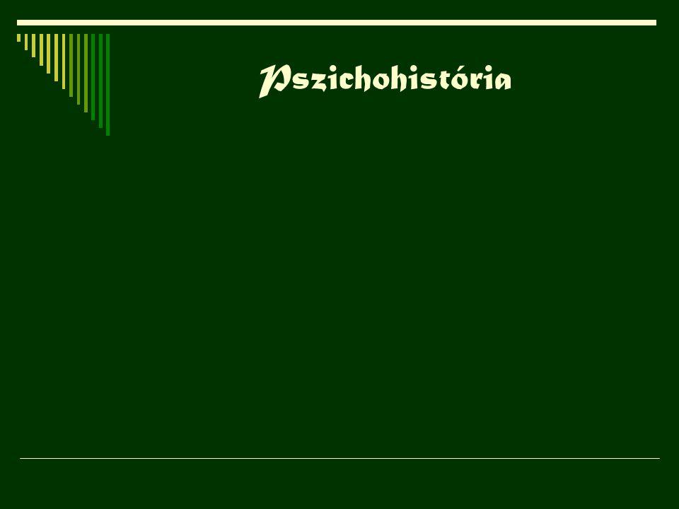 Pszichohistória