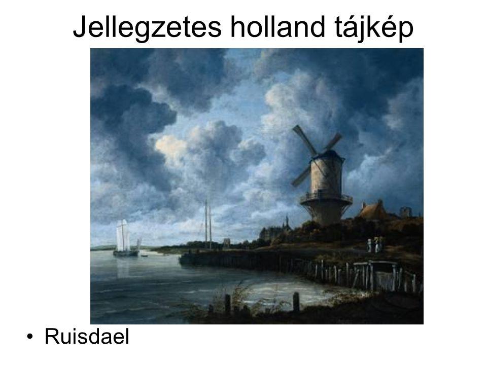 Jellegzetes holland tájkép Ruisdael