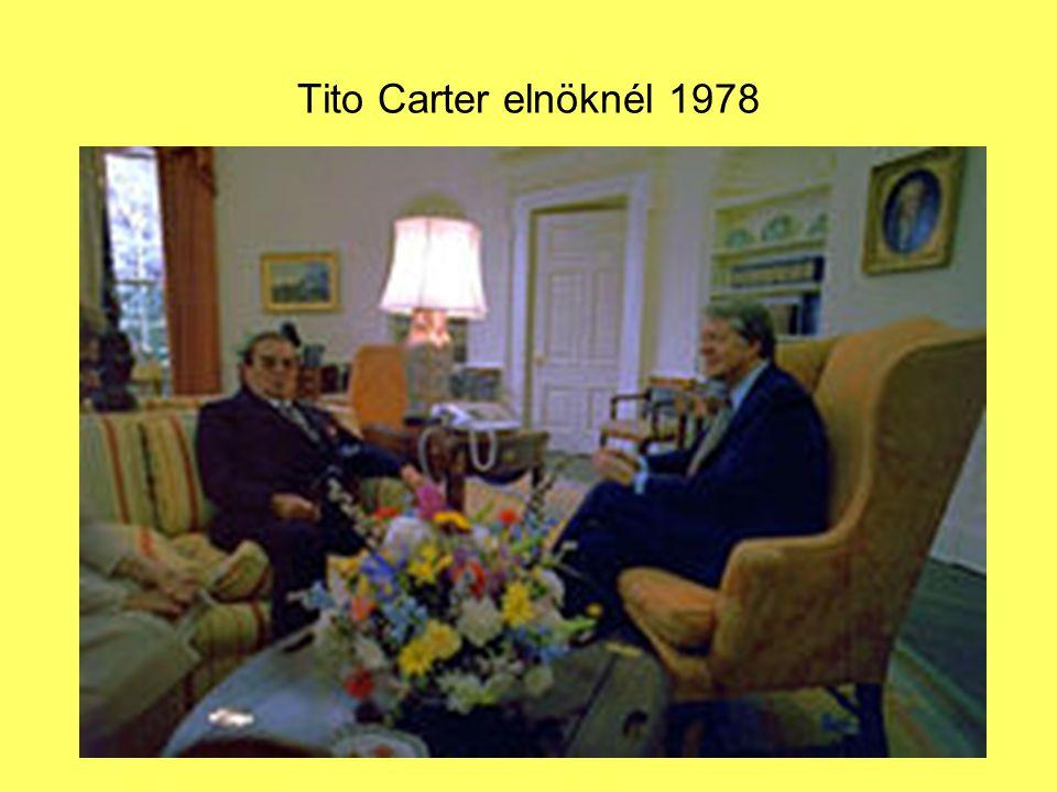 Tito Carter elnöknél 1978