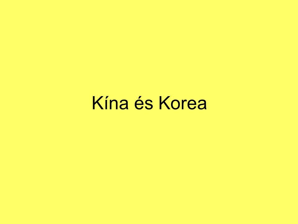 Kína és Korea