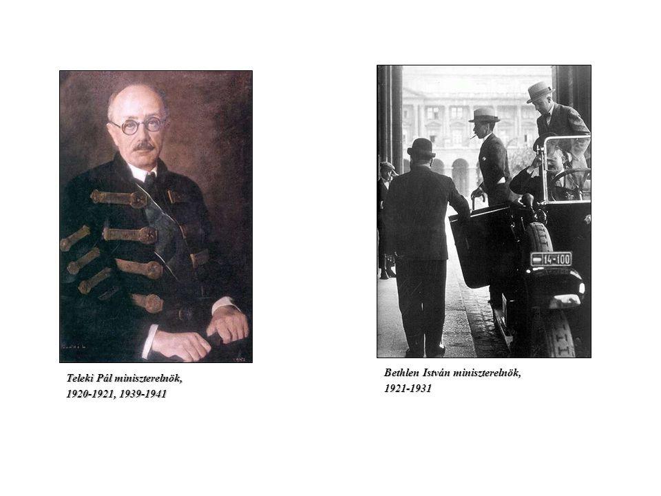 A magyar társadalom a két világháború között AZ ELITEK A hagyományos elit: AZ ARISZTOKRÁCIA Az egyházi, a katonai és a tudáselit A politikai elit: A K