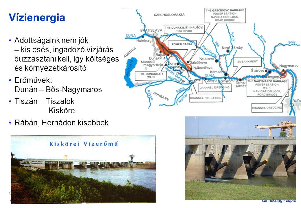 Company Confidential 8 © 2005 Nokia V1-Filename.ppt / yyyy-mm-dd / Initials Egyéb megújuló energiaforrások 1.