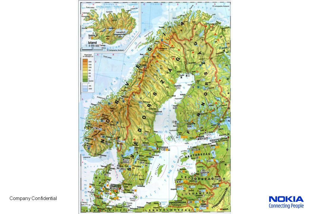 """Company Confidential Izland Jellemzők: """"A jég és a tűz országa Tenger – hajózás és halászat fontos Régen önellátó volt, ma exportál is halat, halkonzervet (védi 200 mérföldes tengeri határait) Reykjavik-itt lakik a lakosság fele (+ a part mentén) hajógy., hal- feldolgozás Hekla"""