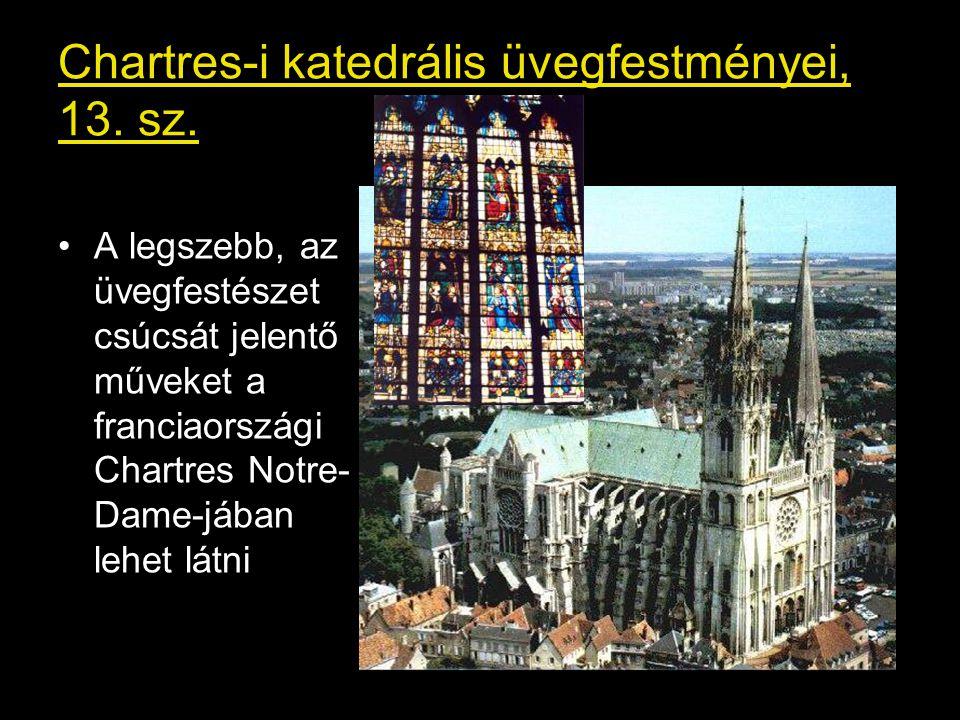 Chartres-i katedrális üvegfestményei, 13.sz.