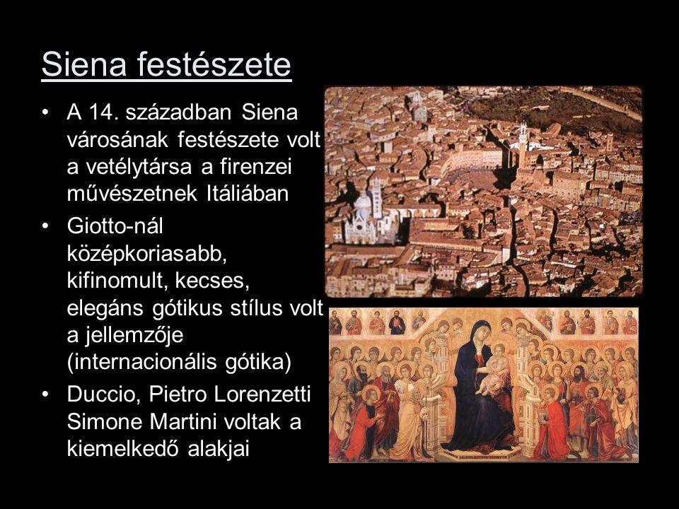 Siena festészete A 14.