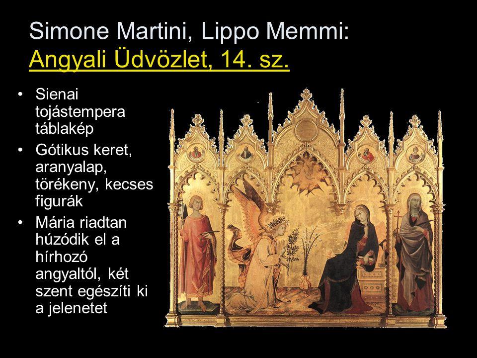 Simone Martini, Lippo Memmi: Angyali Üdvözlet, 14.