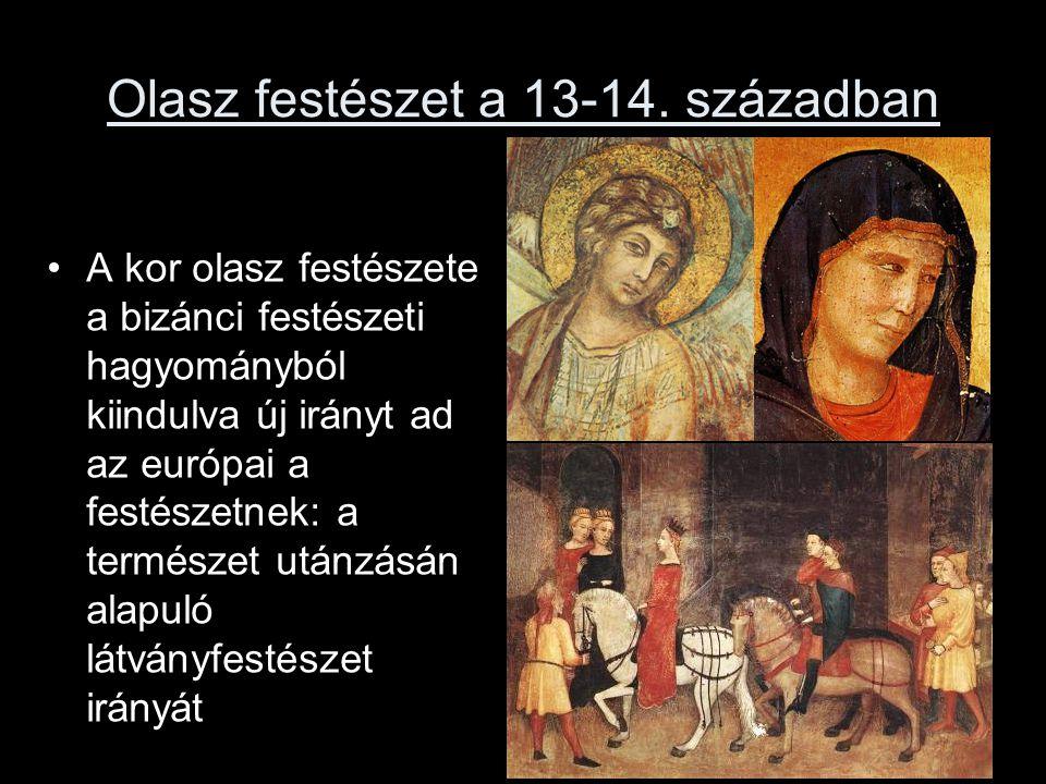 Olasz festészet a 13-14.