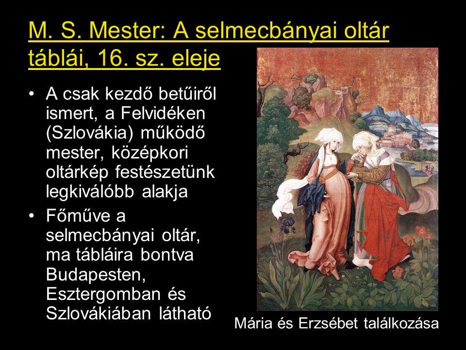 M.S. Mester: A selmecbányai oltár táblái, 16. sz.