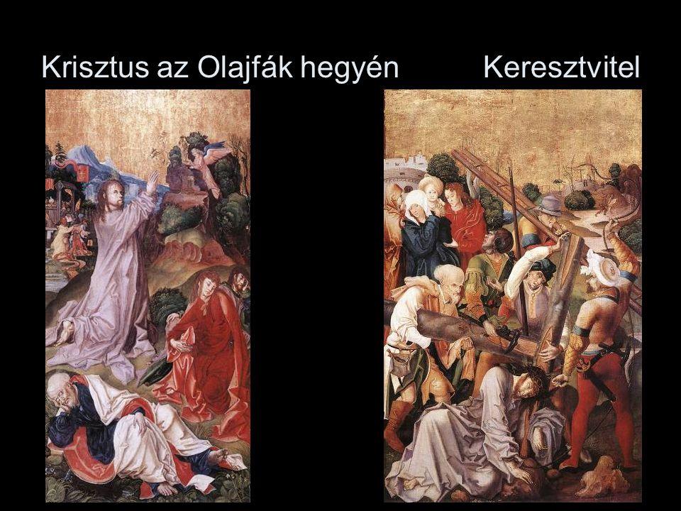 Krisztus az Olajfák hegyén Keresztvitel