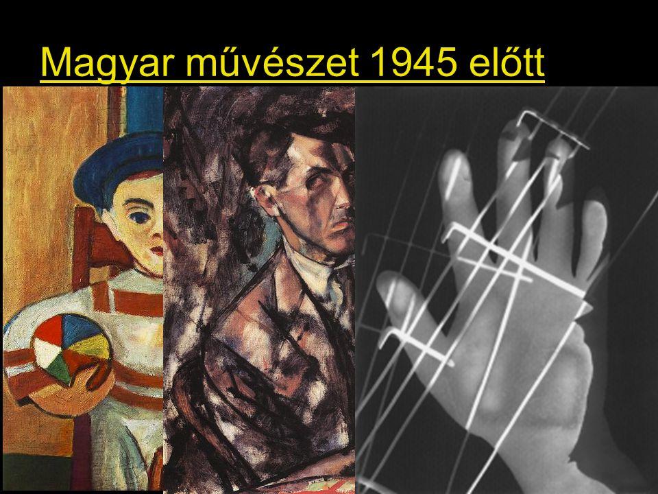 Vajda Lajos: Ezüst gnóm, 1940., MNG