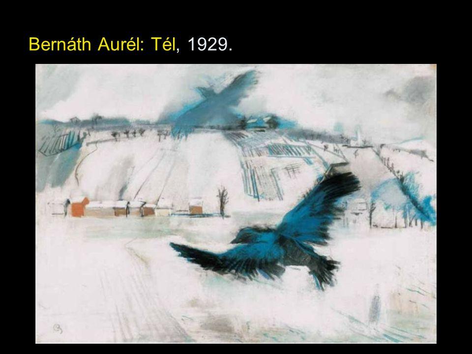 Bernáth Aurél: Tél, 1929.