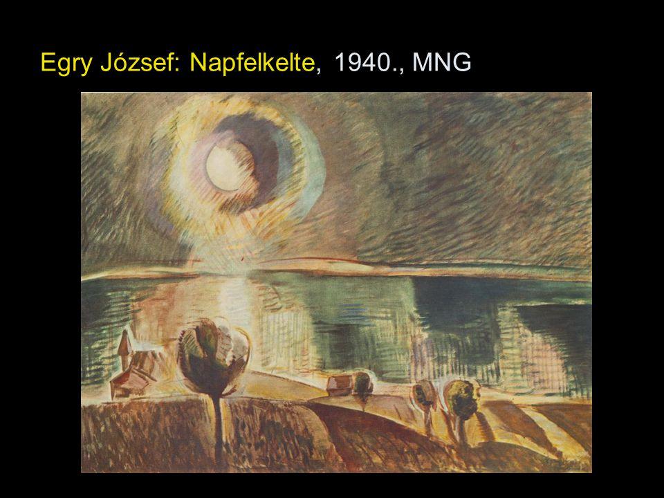 Egry József: Napfelkelte, 1940., MNG