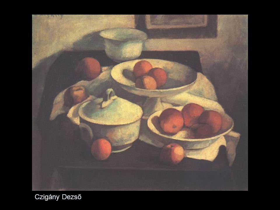 - Derkovits Gyula Nem tartozik a körbe, (munkás származású), de stílusában rokon velük Elkötelezett munkásfestő Expresszionista hatások