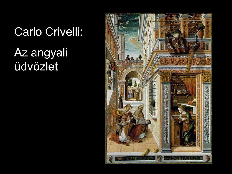 Carlo Crivelli: Az angyali üdvözlet