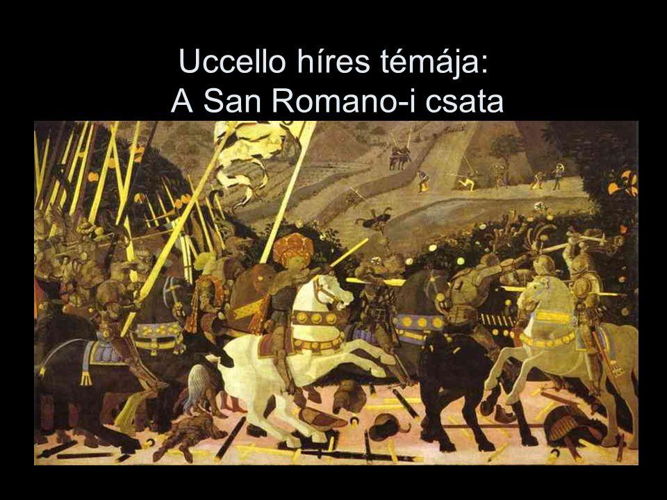Uccello híres témája: A San Romano-i csata