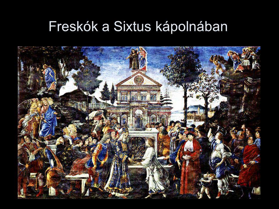 Freskók a Sixtus kápolnában