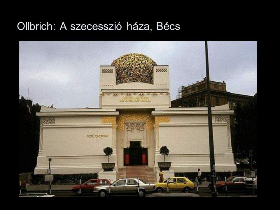Ollbrich: A szecesszió háza, Bécs
