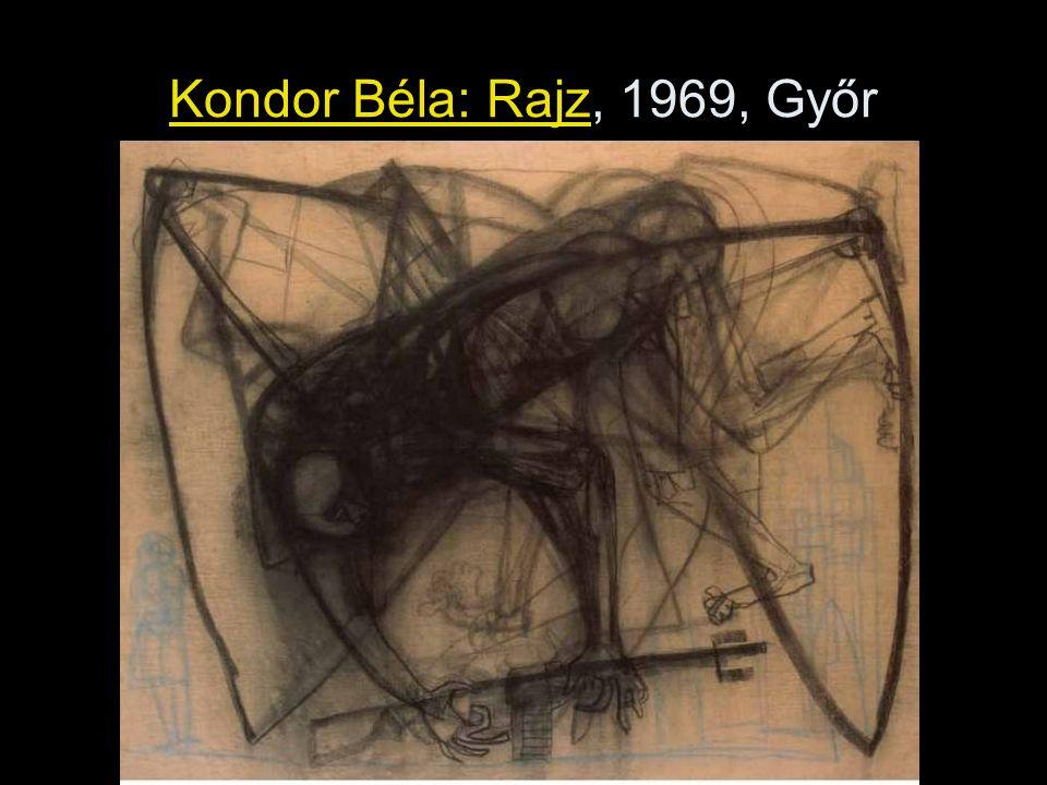 Kondor Béla: Rajz, 1969, Győr