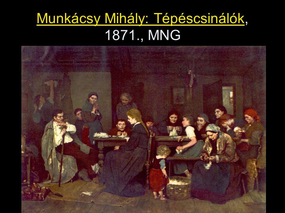 Munkácsy Mihály: Tépéscsinálók, 1871., MNG