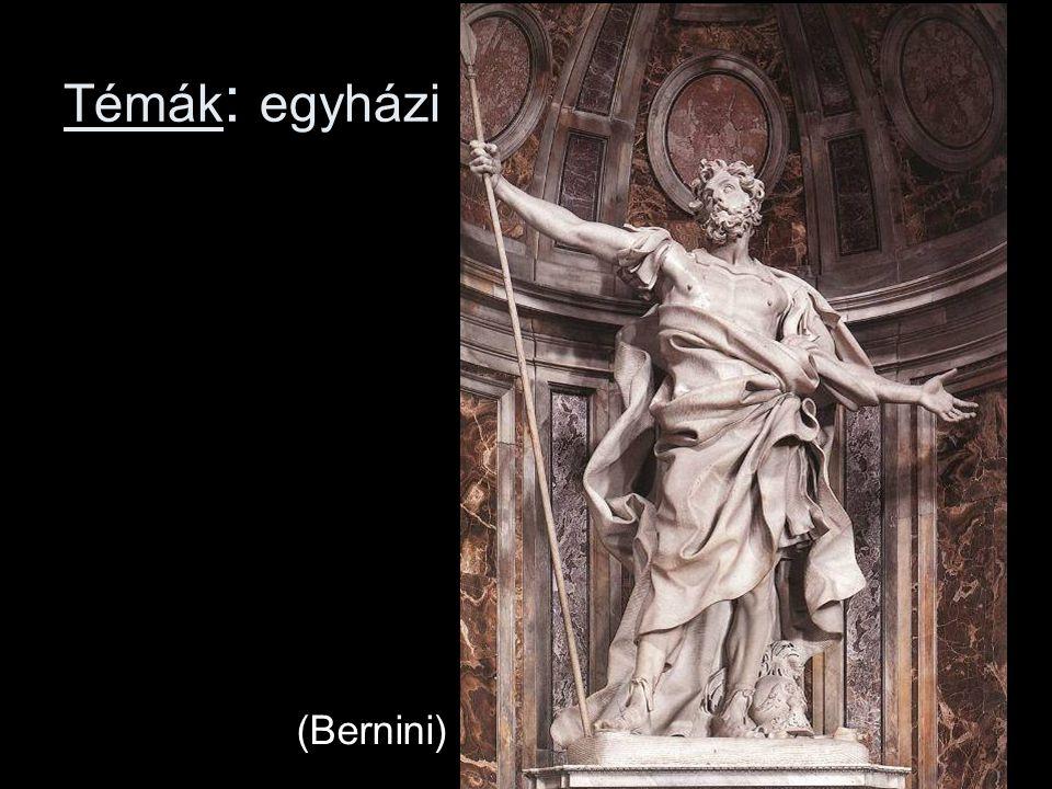 Témák : egyházi (Bernini)