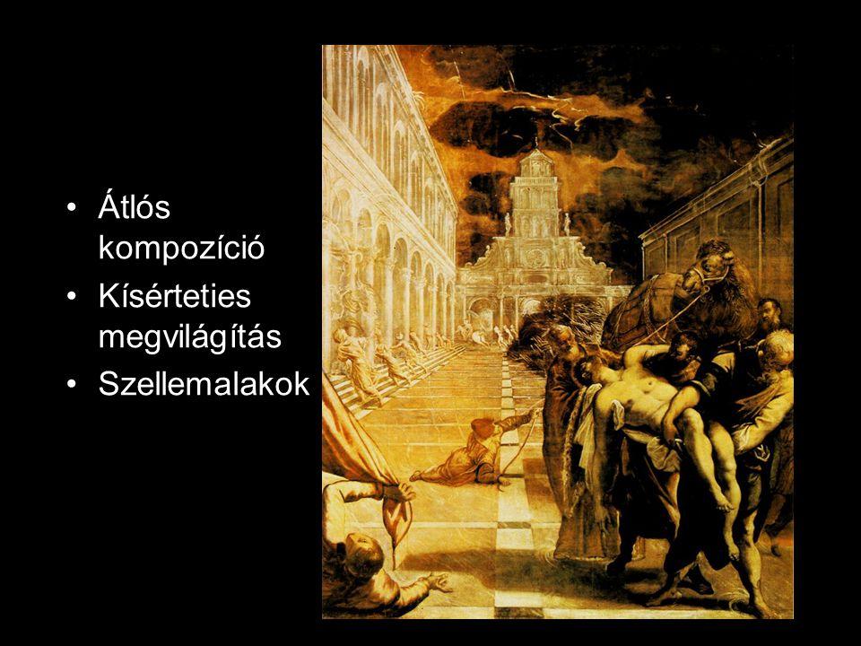 Átlós kompozíció Kísérteties megvilágítás Szellemalakok