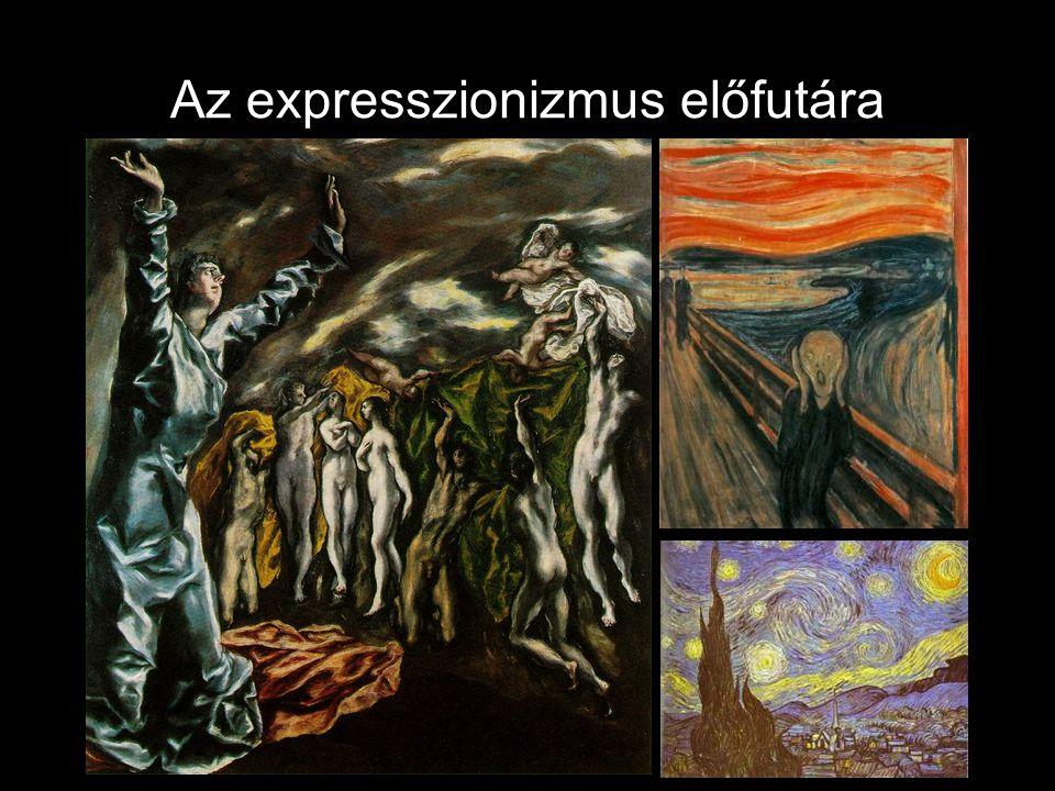 Az expresszionizmus előfutára