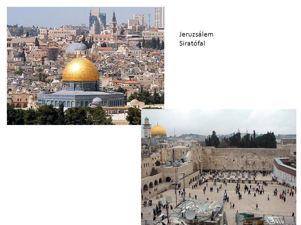 Jeruzsálem Siratófal