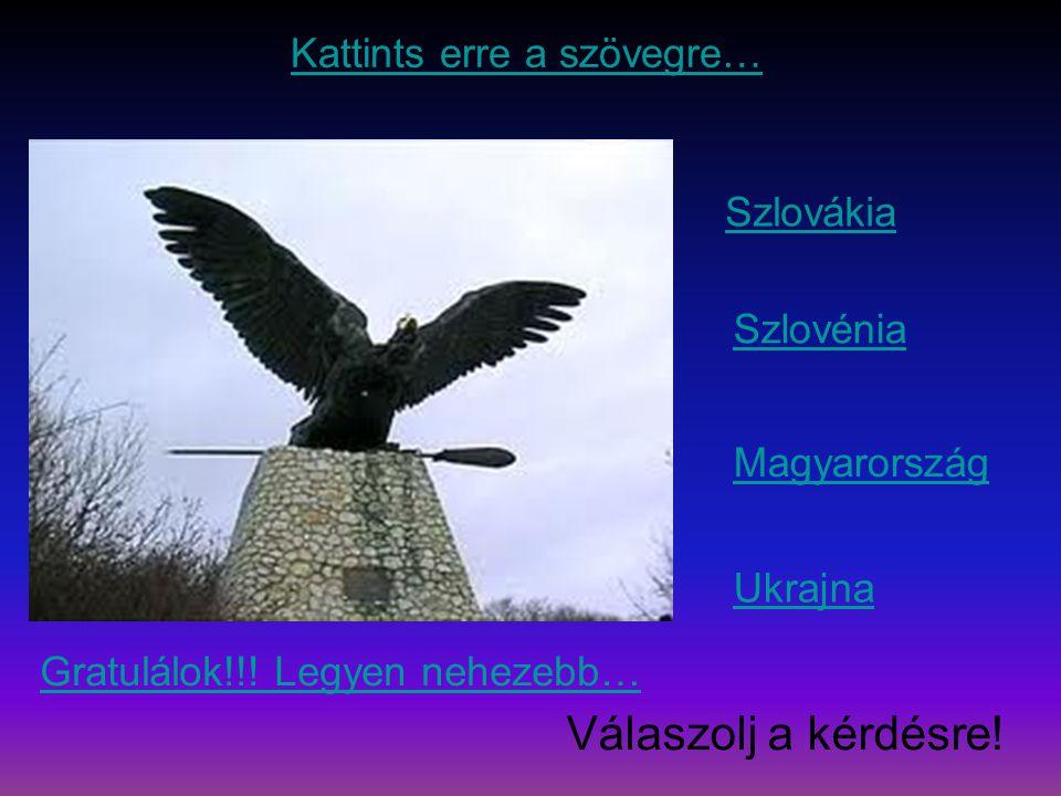 Szlovákia Szlovénia Magyarország Ukrajna Gratulálok!!.