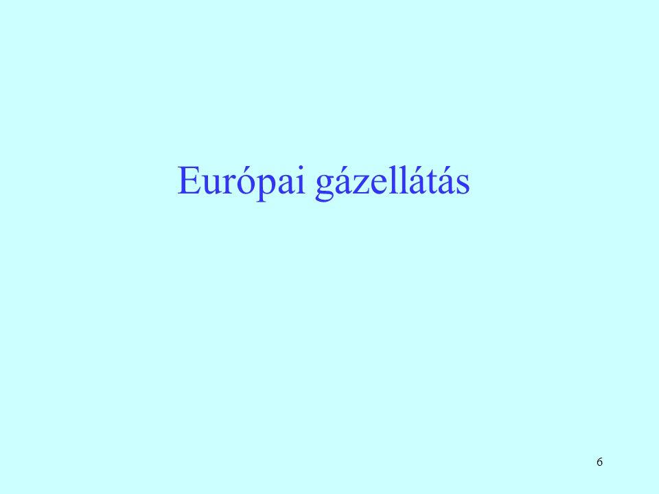 6 Európai gázellátás