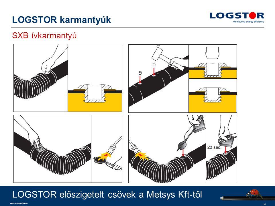 14 090610-Energioptimering LOGSTOR karmantyúk SXB ívkarmantyú LOGSTOR előszigetelt csövek a Metsys Kft-től