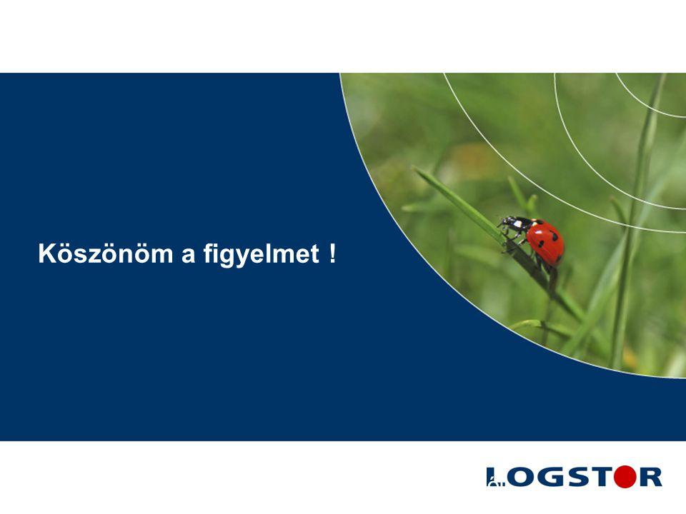21 090610-Energioptimering Köszönöm a figyelmet ! LOGSTOR előszigetelt csövek a Metsys Kft-től