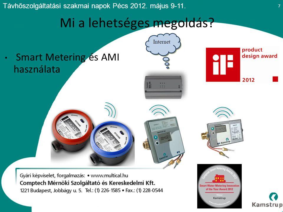 Beruházási oldal: Multical 21 vízmérő Adatkoncentrátor Opció: Elzárószelep 18 Mi a drágább.
