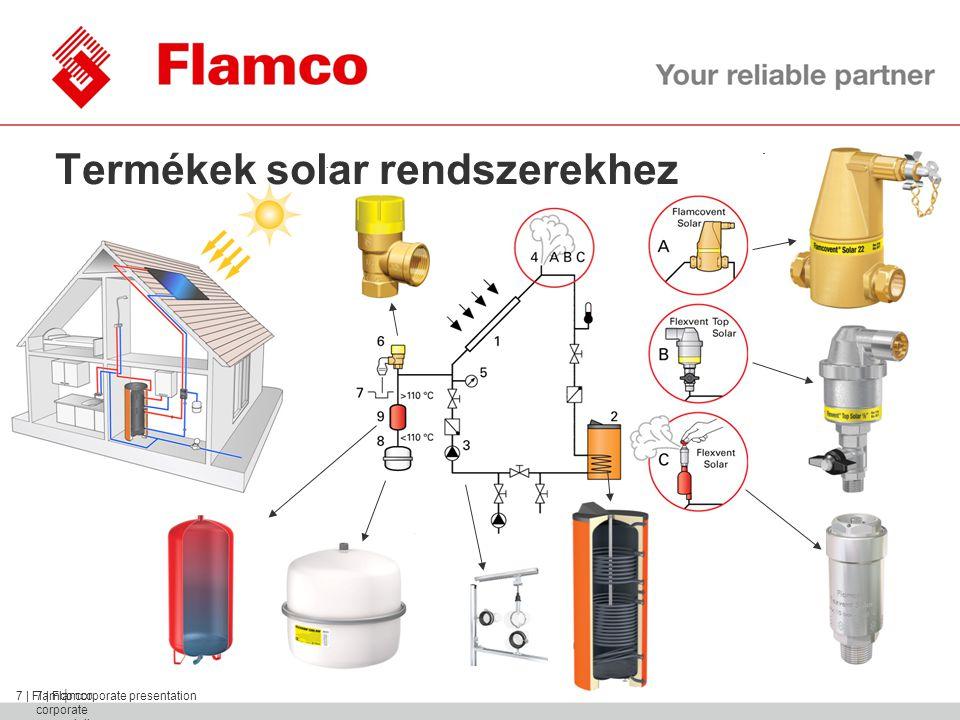 || Flamco Group 8 | Flamco corporate presentation Rögzítéstechnikai elemek