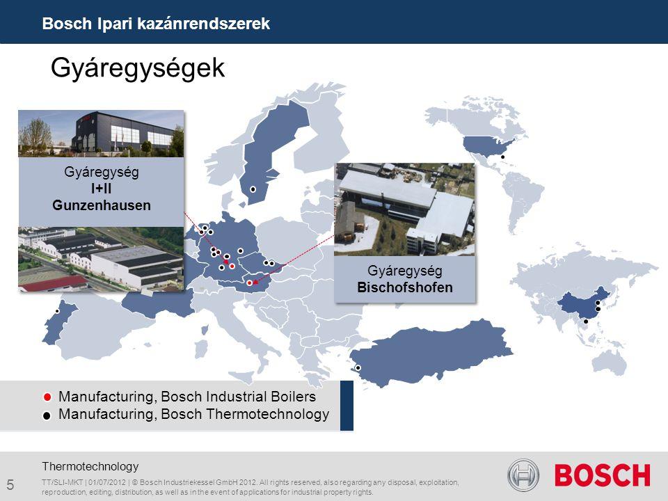 Manufacturing, Bosch Industrial Boilers Manufacturing, Bosch Thermotechnology TT/SLI-MKT | 01/07/2012 | © Bosch Industriekessel GmbH 2012. All rights