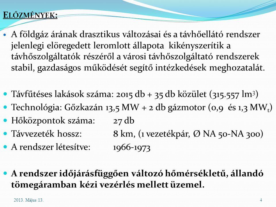 Mohács közterület fűtése 2012 52013. Május 13.