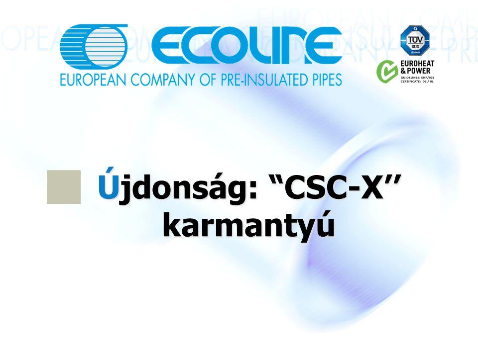 Újdonság: CSC-X'' karmantyú
