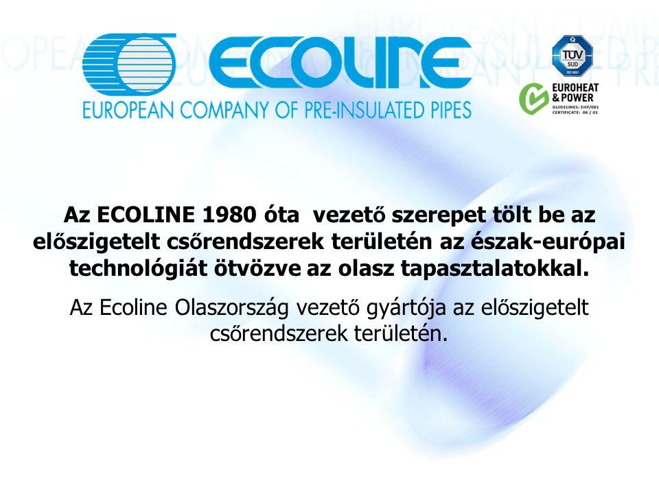 Az ECOLINE 1980 óta vezet ő szerepet tölt be az el ő szigetelt cs ő rendszerek területén az észak-európai technológiát ötvözve az olasz tapasztalatokkal.