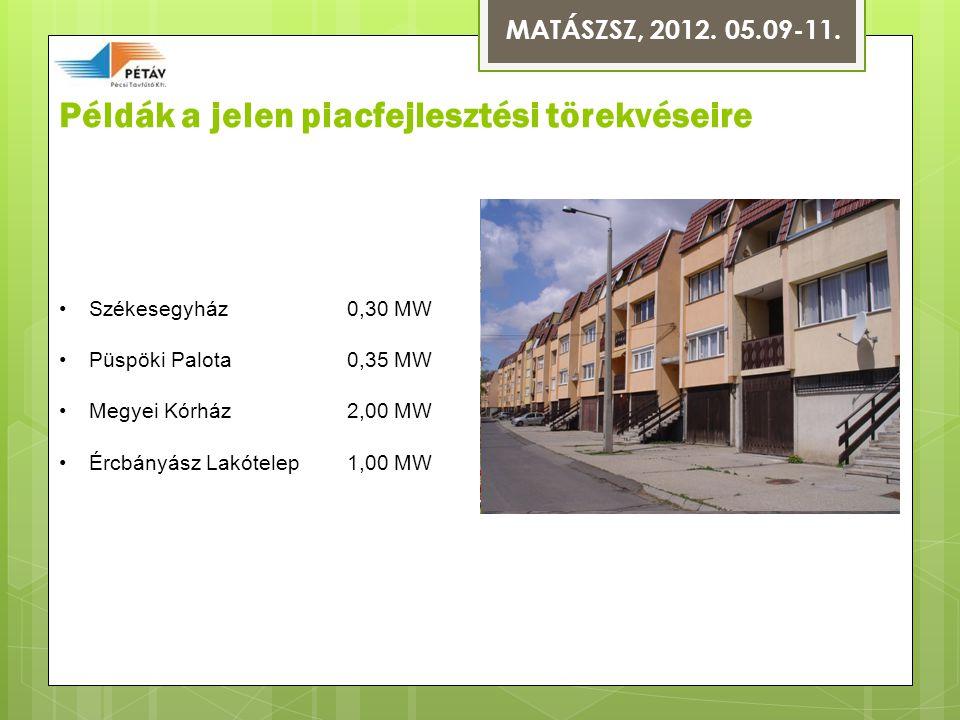 Példák a jelen piacfejlesztési törekvéseire MATÁSZSZ, 2012.