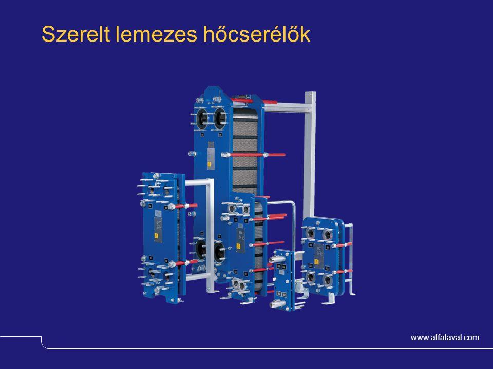 www.alfalaval.com © Alfa LavalSlide 3 Rézzel forrasztott lemezes hőcserélők