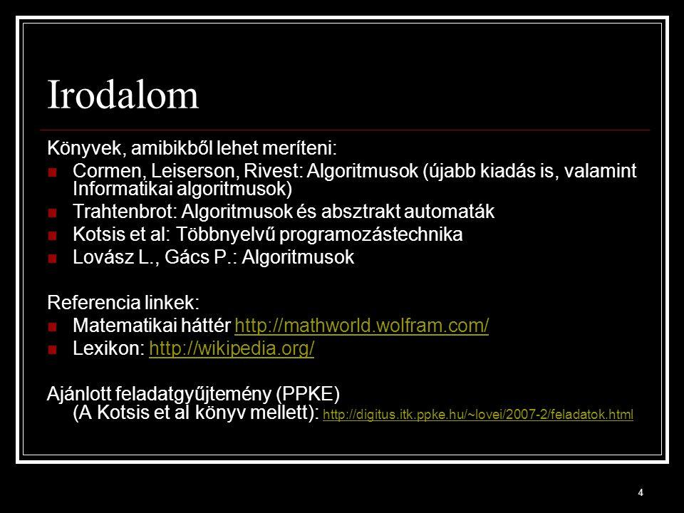 65 Egydimenziós tömb átlaga public static double atlag(double[] vektor) { double s = 0.0; for (int i = 0; i < vektor.Length; i++) s += vektor[i]; return s/vektor.Length; } public static void Main(){ double[] tomb = new double[] { -4.11, 1.23, 2.14 }; Console.WriteLine(atlag(tomb)); // - 0,246..