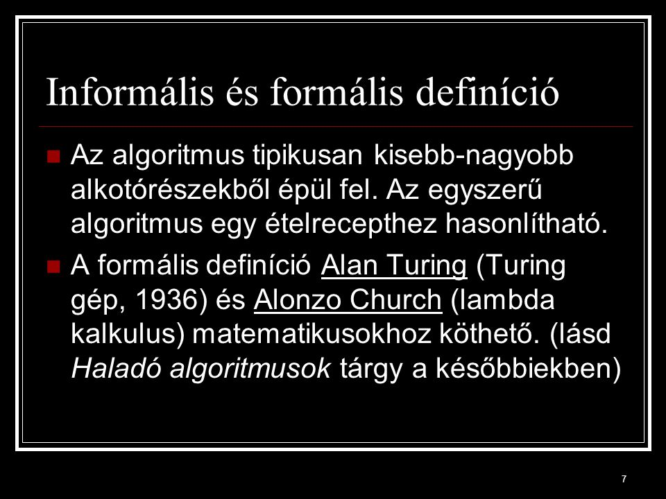 68 Nem-egydimenziós tömbök A nem-egydimenziós tömbökkel a későbbiekben részletesen fogunk foglalkozni!
