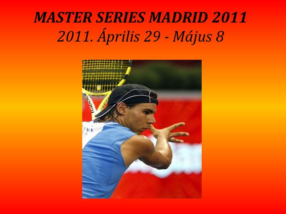 MASTER SERIES MADRID 2011 2011. Április 29 - Május 8